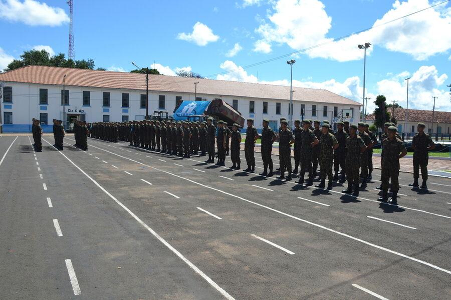 Comando de Aquidauana recebe turma do Núcleo de Preparação de ... b9c553c55f5