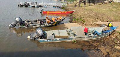 Corpo de Bombeiros e Marinhado Brasil participaram de buscas