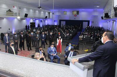 Sessão na Câmara Municipal de Campo Grande