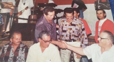 Gaeta, Antônio Gonçalves, Carneirinho, José Ferreira e Flávio Gomes