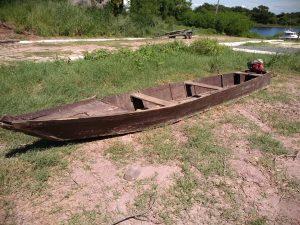 Barco apreendido